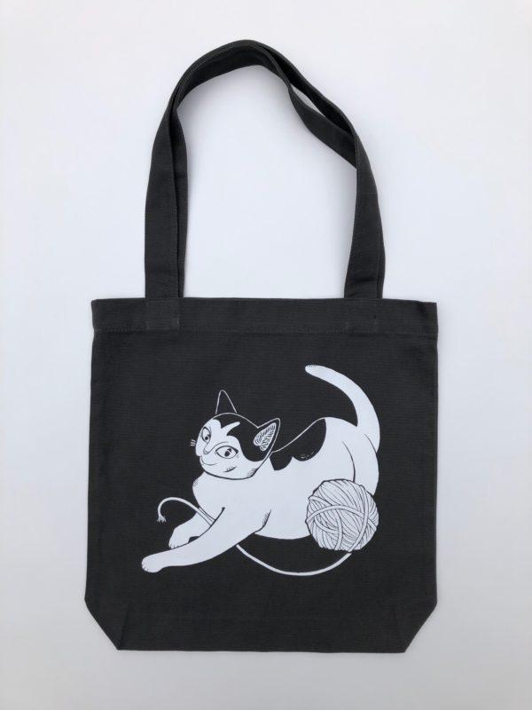 Wool Winder Cat Tote Bag-2521